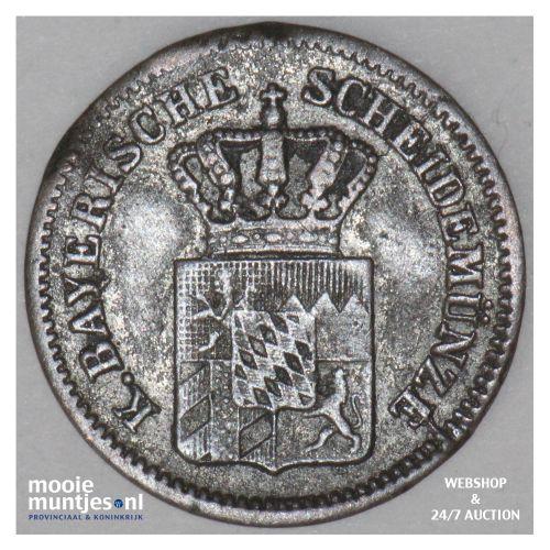 kreuzer - German States/Bavaria 1863 (KM 858) (kant B)