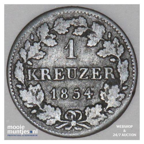 kreuzer - German States/Bavaria 1854 (KM 799) (kant A)