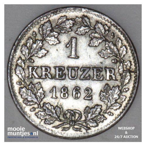 kreuzer - German States/Bavaria 1862 (KM 858) (kant A)