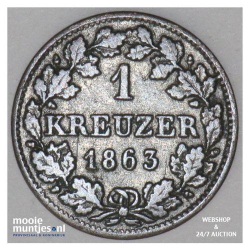 kreuzer - German States/Bavaria 1863 (KM 858) (kant A)