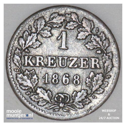 kreuzer - German States/Bavaria 1868 (KM 873) (kant A)