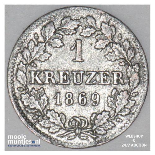 kreuzer - German States/Bavaria 1869 (KM 873) (kant A)