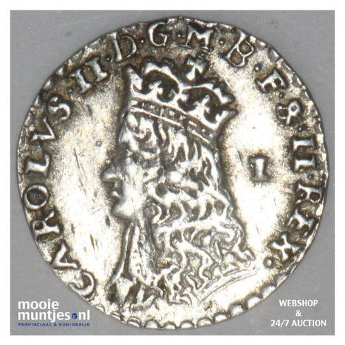 penny - hammered coinage - Great Britain zonder jaartal - no date (KM 397) (kant