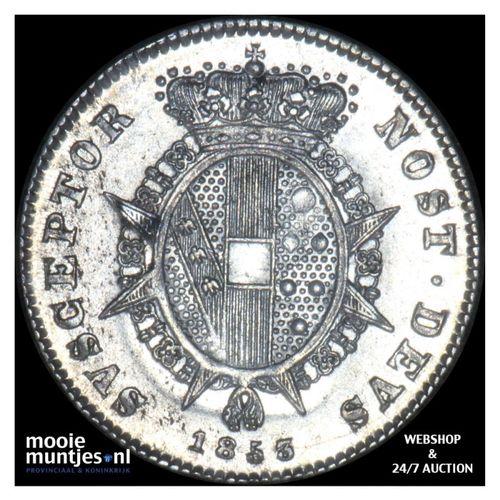 1/2 paolo - Italian States/Tuscany 1853 (KM C# 68a) (kant A)