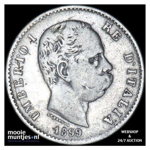 lira - Italy 1899 (KM 24.1) (kant A)