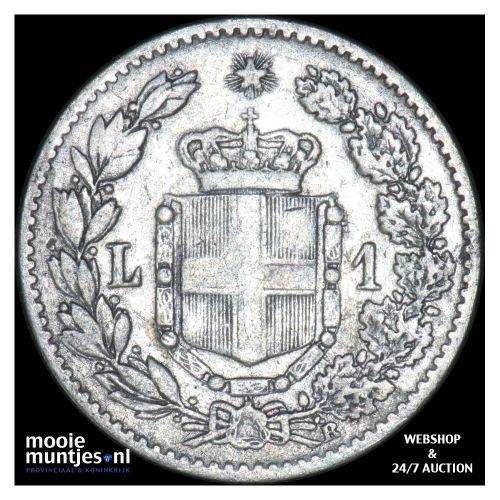 lira - Italy 1899 (KM 24.1) (kant B)
