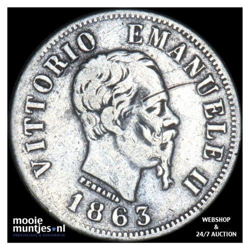 50 centesimi - Italy 1863 T (KM 14.3) (kant A)