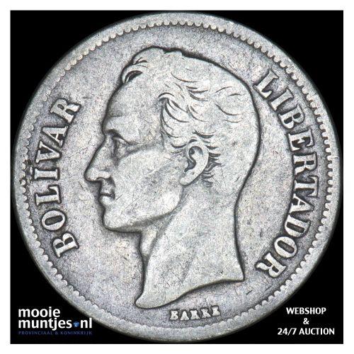 gram 10 (2 bolivares) - Venezuela 1919 (KM Y# 23) (kant B)