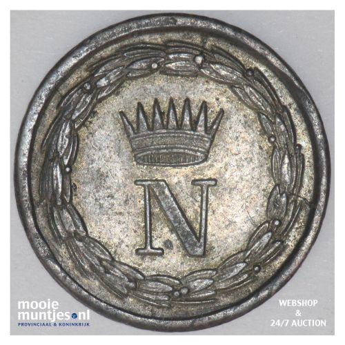 10 centesimi - Italian States/Kingdom of Napoleon 1812 (KM C# 4) (kant B)