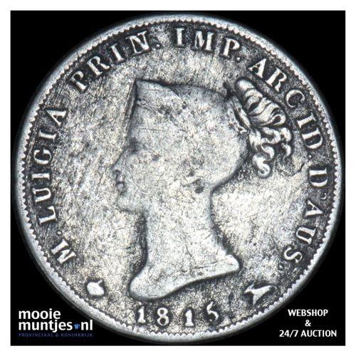 10 soldi - Italian States/Parma 1815 (KM C# 27) (kant A)