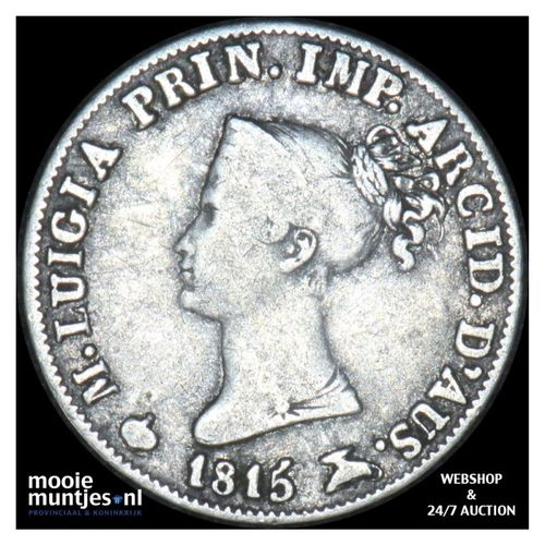 5 soldi - Italian States/Parma 1815 (KM C# 26) (kant A)