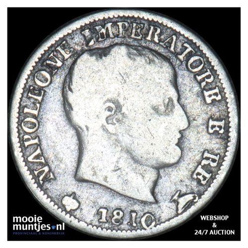5 soldi - Italian States/Kingdom of Napoleon 1810 (KM C# 5.1) (kant A)