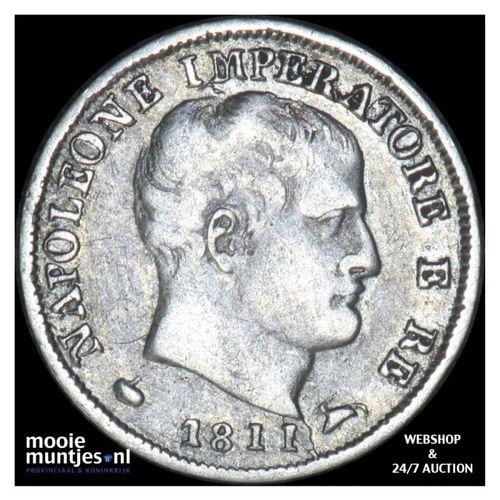 5 soldi - Italian States/Kingdom of Napoleon 1811 (KM C# 5.1) (kant A)