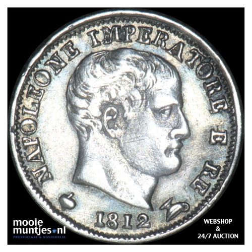 5 soldi - Italian States/Kingdom of Napoleon 1812 (KM C# 5.1) (kant A)