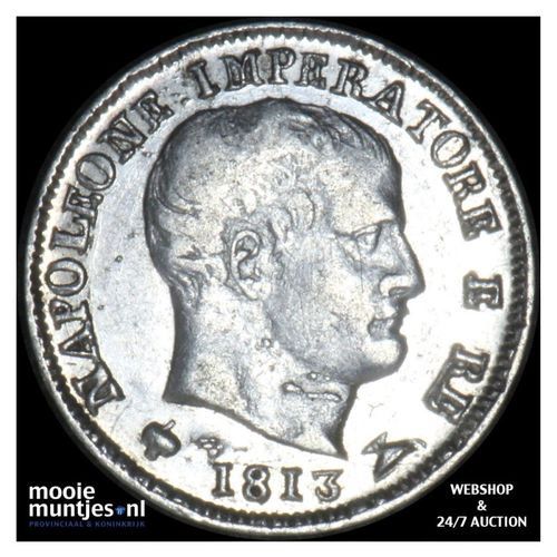 5 soldi - Italian States/Kingdom of Napoleon 1813 (KM C# 5.1) (kant A)