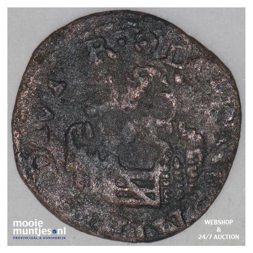 Holland - Penning of halve duit - 1573 (kant B)
