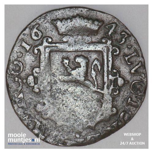 Zeeland - Oord - 1643 (kant A)