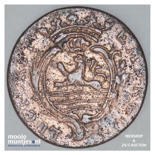 Zeeland - Duit - 1789 (kant B)