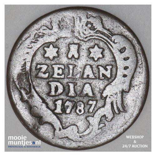 Zeeland - Duit - 1787 (kant A)