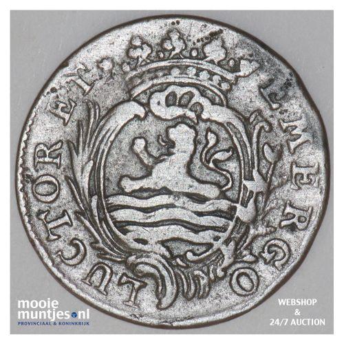 Zeeland - Duit - 1786 over 85 (kant B)