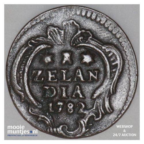 Zeeland - Duit - 1782 (kant A)