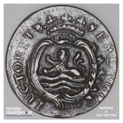 Zeeland - Duit - 1782 (kant B)