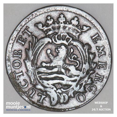 Zeeland - Duit - 1776 (kant B)