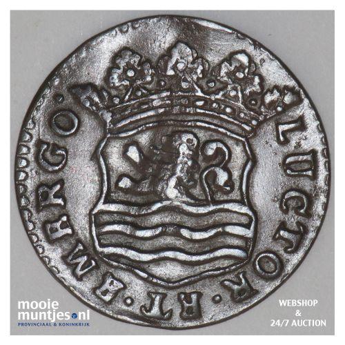 Zeeland - Duit - 1747 (kant B)