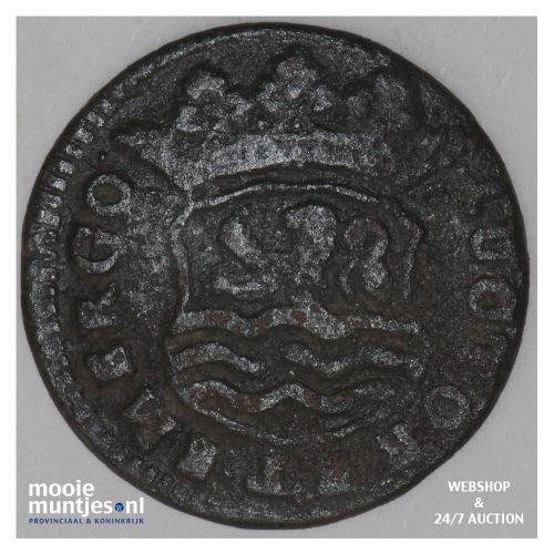 Zeeland - Duit - 1727 (kant B)