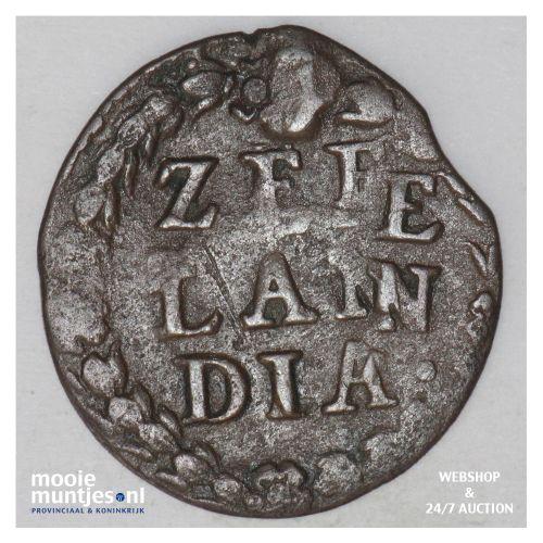 Zeeland - Duit - 1665 misslag (kant B)