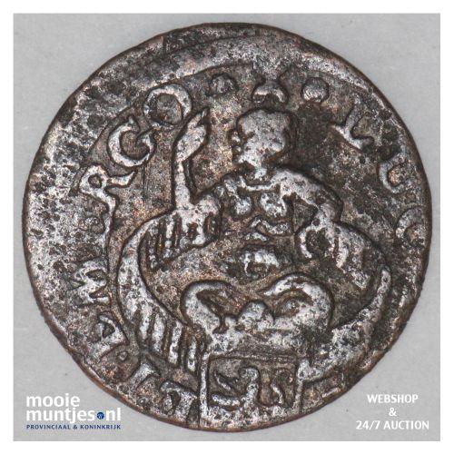 Zeeland - Duit - 1681 (kant B)