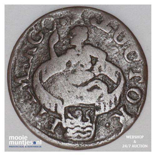 Zeeland - Duit - 1683 (kant B)