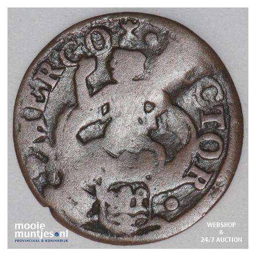 Zeeland - Duit - 1685 (kant B)