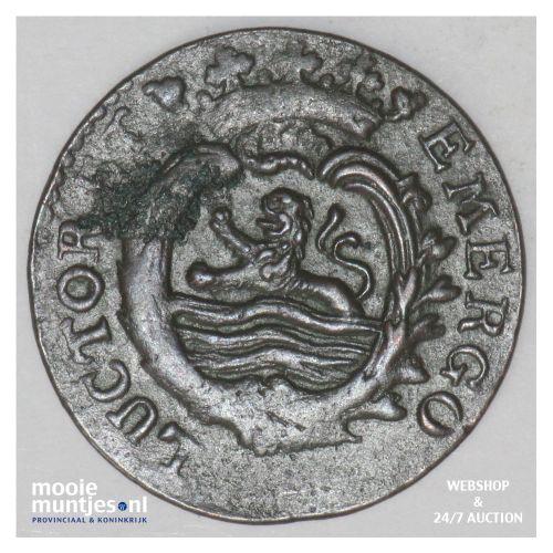 Zeeland - Duit - 1784 (kant B)
