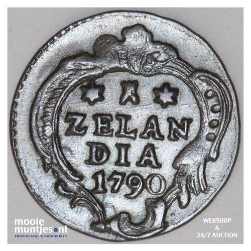 Zeeland - Duit - 1790 (kant A)