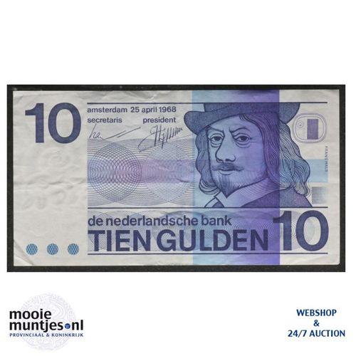 10 gulden  - 1968 (Mev. 49-1a / AV 37) (kant A)