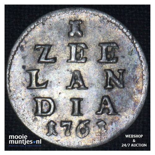 Zeeland - Pijl- of bezemstuiver - 1761 over 60 (kant A)