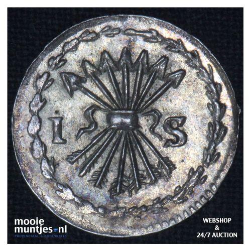 Zeeland - Pijl- of bezemstuiver - 1761 over 60 (kant B)