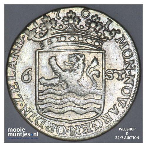 Zeeland - Scheepjesschelling - 1761 (kant A)