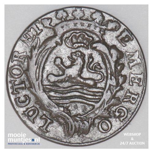 Zeeland - Duit - 1787 over 86 (kant B)