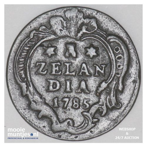 Zeeland - Duit - 1785 (kant A)