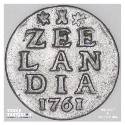 Zeeland - Duit - 1761 (kant A)