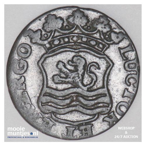 Zeeland - Duit - 1761 (kant B)