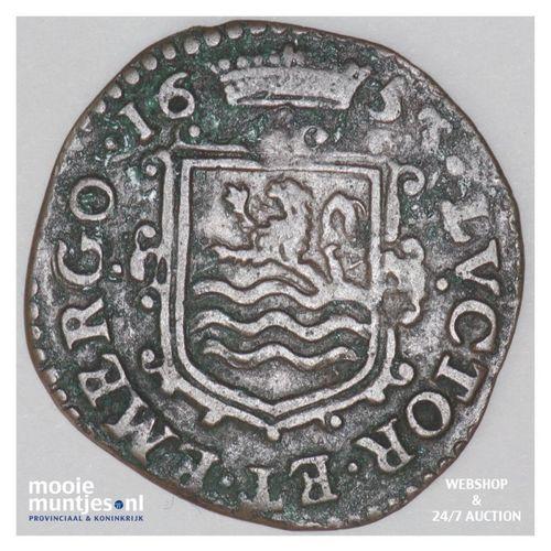Zeeland - Oord - 1653 (kant A)
