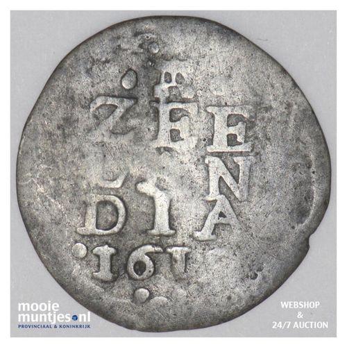 Zeeland - Pijl- of bezemstuiver - 1614 (kant A)