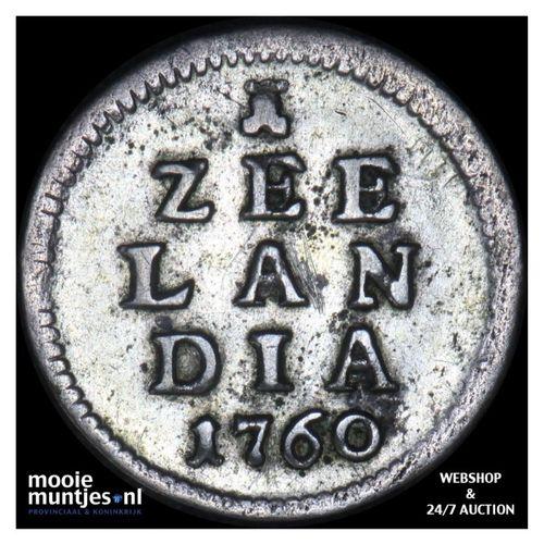 Zeeland - Pijl- of bezemstuiver - 1760 (kant A)