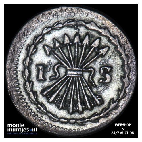 Zeeland - Pijl- of bezemstuiver - 1760 (kant B)