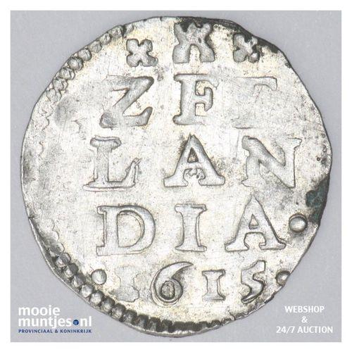 Zeeland - Dubbele stuiver - 1615 (kant A)