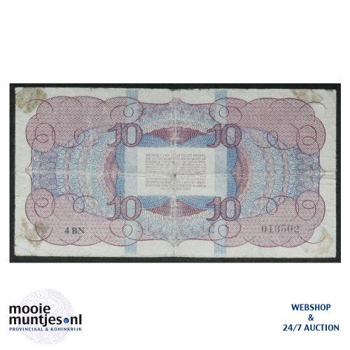 10 gulden  - 1945 (Mev. 45-1a / AV 34) (kant B)