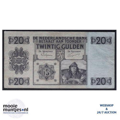 20 gulden - 1926 (Mev. 57-1a / AV 40) (kant A)